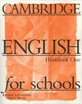 Cambridge English for Schools 1. Workbook - фото книги