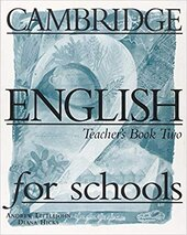 Cambridge English for Schools 2. Teacher's book - фото обкладинки книги