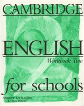 Cambridge English for Schools 2. Workbook - фото книги