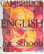 Cambridge English for Schools 3. Student's Book - фото обкладинки книги
