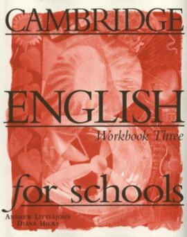 Cambridge English for Schools 3. Workbook - фото книги