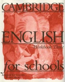 Cambridge English for Schools 3. Workbook - фото книги