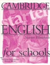 Cambridge English for Schools Starter. Workbook - фото обкладинки книги