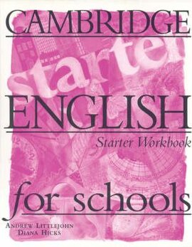Cambridge English for Schools Starter. Workbook - фото книги