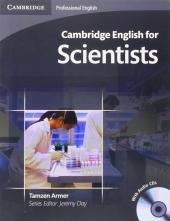 Cambridge English for Scientists Student's Book with Audio CDs (підручник+аудіодиск) - фото обкладинки книги
