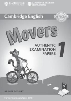 Cambridge English Movers 1 for Revised Exam from 2018 Answer Booklet (тестовий зошит) - фото книги