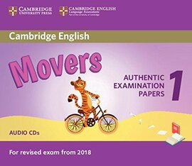 Cambridge English Movers 1 for Revised Exam from 2018 (аудіодиск) - фото книги