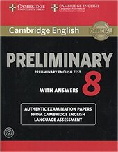 Cambridge English Preliminary 8 Student's Book Pack. (Student's Book with Answers and Audio CDs (2)) - фото обкладинки книги