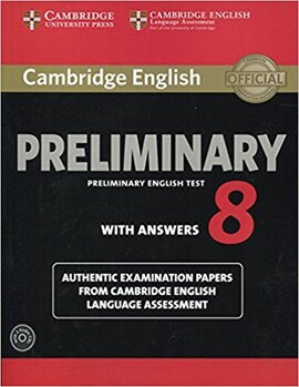 Cambridge English Preliminary 8 Student's Book Pack. (Student's Book with Answers and Audio CDs (2)) - фото книги