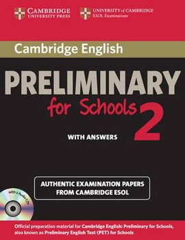 Cambridge English Preliminary for Schools 2 Student's Book with Answers and Audio CDs (2) - фото книги