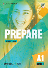 Cambridge English Prepare! 2nd Edition. Level 1. Student's Book including Companion for Ukraine - фото обкладинки книги