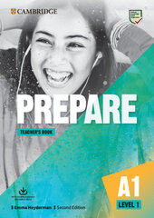 Cambridge English Prepare! 2nd Edition. Level 1. Teacher's Book with Downloadable Resource Pack - фото обкладинки книги