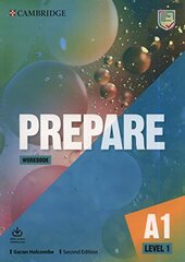 Cambridge English Prepare! 2nd Edition. Level 1. Workbook with Downloadable Audio - фото обкладинки книги