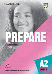 Cambridge English Prepare! 2nd Edition. Level 2. Teacher's Book with Downloadable Resource Pack - фото обкладинки книги