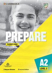 Cambridge English Prepare! 2nd Edition. Level 3. Teacher's Book with Downloadable Resource Pack - фото обкладинки книги