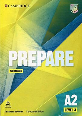Cambridge English Prepare! 2nd Edition. Level 3. Workbook with Downloadable Audio - фото книги
