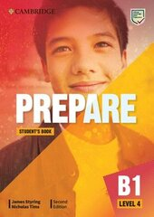 Cambridge English Prepare! 2nd Edition. Level 4. Student's Book - фото обкладинки книги