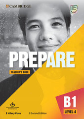 Cambridge English Prepare! 2nd Edition. Level 4. Teacher's Book with Downloadable Resource Pack - фото обкладинки книги