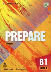 Cambridge English Prepare! 2nd Edition. Level 4. Workbook with Downloadable Audio - фото обкладинки книги