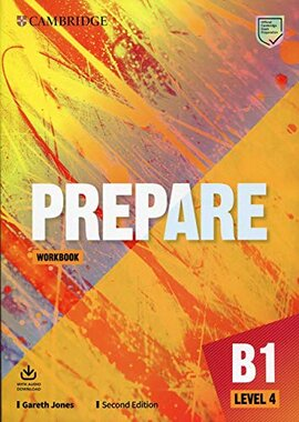 Cambridge English Prepare! 2nd Edition. Level 4. Workbook with Downloadable Audio - фото книги