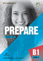 Cambridge English Prepare! 2nd Edition. Level 5. Teacher's Book with Downloadable Resource Pack - фото обкладинки книги