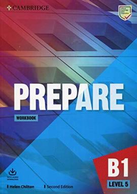 Cambridge English Prepare! 2nd Edition. Level 5. Workbook with Downloadable Audio - фото книги
