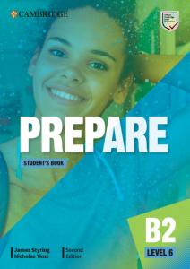 Cambridge English Prepare! 2nd Edition. Level 6. Student's Book including Companion for Ukraine - фото книги