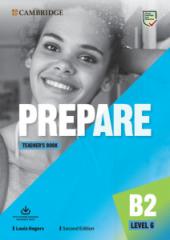 Cambridge English Prepare! 2nd Edition. Level 6. Teacher's Book with Downloadable Resource Pack - фото обкладинки книги