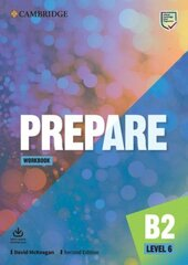 Cambridge English Prepare! 2nd Edition. Level 6. Workbook with Downloadable Audio - фото обкладинки книги