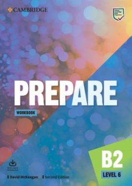 Cambridge English Prepare! 2nd Edition. Level 6. Workbook with Downloadable Audio - фото книги