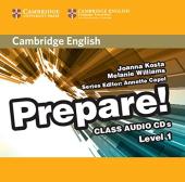 Cambridge English Prepare! Level 1 Class Audio CD's (аудіодиск) - фото обкладинки книги