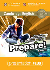 Cambridge English Prepare! Level 1 Presentation Plus DVD-ROM - фото обкладинки книги