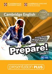 Cambridge English Prepare! Level 1 Presentation Plus DVD-ROM - фото книги