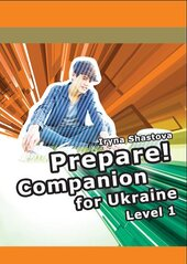 Cambridge English Prepare! Level 1 SB including Companion for Ukraine (буклет) - фото обкладинки книги
