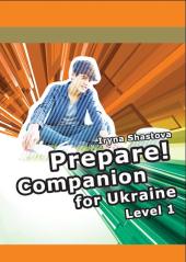 Cambridge English Prepare! Level 1 SB including Companion for Ukraine (буклет) - фото обкладинки книги