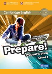 Cambridge English Prepare! Level 1 Student's Book+Work Book(підручник+робочий зошит) - фото обкладинки книги