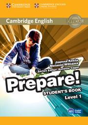 Cambridge English Prepare! Level 1 Student's Book+Work Book(підручник+робочий зошит) - фото книги