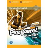 Cambridge English Prepare! Level 1 Work Book with Audio(робочий зошит) - фото обкладинки книги