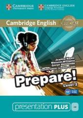 Cambridge English Prepare! Level 2 Presentation Plus DVD-ROM (DVD диск) - фото обкладинки книги