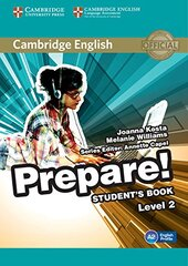 Cambridge English Prepare! Level 2 SB (підручник) - фото обкладинки книги