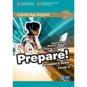 Cambridge English Prepare! Level 2 Student's Book with Companion for Ukraine(підручник) - фото обкладинки книги