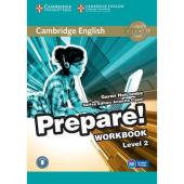 Cambridge English Prepare! Level 2 Work Book with Downloadable Audio (робочий зошит) - фото обкладинки книги