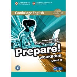 Cambridge English Prepare! Level 2 Work Book with Downloadable Audio (робочий зошит) - фото книги