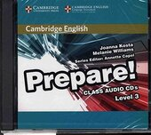 Cambridge English Prepare! Level 3 Class Audio CDs (2) - фото обкладинки книги