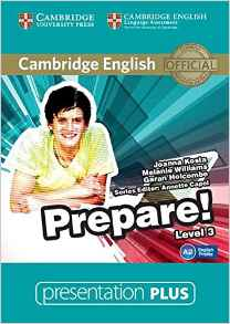 Cambridge English Prepare! Level 3 Presentation Plus DVD-ROM (DVD диск) - фото книги