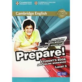 Cambridge English Prepare! Level 3 Student's Book + online Work Book (підручник) - фото книги