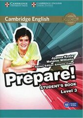 Cambridge English Prepare! Level 3 Student's Book (підручник) - фото обкладинки книги