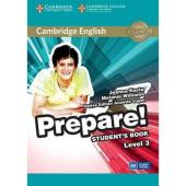 Cambridge English Prepare! Level 3 Student's Book with Companion for Ukraine (підручник) - фото обкладинки книги