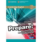 Cambridge English Prepare! Level 3 Teacher's Book+DVD (підручник+аудіодиск) - фото обкладинки книги