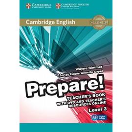 Cambridge English Prepare! Level 3 Teacher's Book+DVD (підручник+аудіодиск) - фото книги